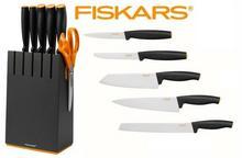Fiskars Zestaw 5 noży w czarnym bloku 1014190 1014190