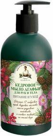 Pierwoje Reszenie Pierwoje Reszenie, Rosja Babuszka Agafia Mydło w kostce cedrowe 500ml