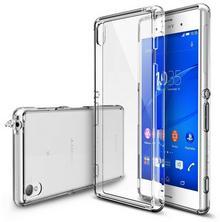 RINGKE Etui Fusion Sony Xperia Z3 BEZBARWNY NA TYŁ TWORZYWO SZTUCZNE
