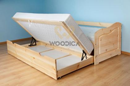 Woodica Łóżko Sofa 3S+frez