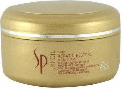 Wella Luxe Oil keratynowa regeneracyjna Maseczka do włosów 150 ml