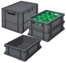 Pojemnik plastikowy 400x300, 6 l Euro RAJA E430711