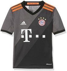 Adidas koszulka piłkarska, dziecięca, replika wyjazdowej koszulki FC Bayern Monachium, szary AZ4661