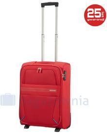 Samsonite AT by Mała walizka kabinowa AT SUMMER VOYAGER 85458 Czerwona - czerwony
