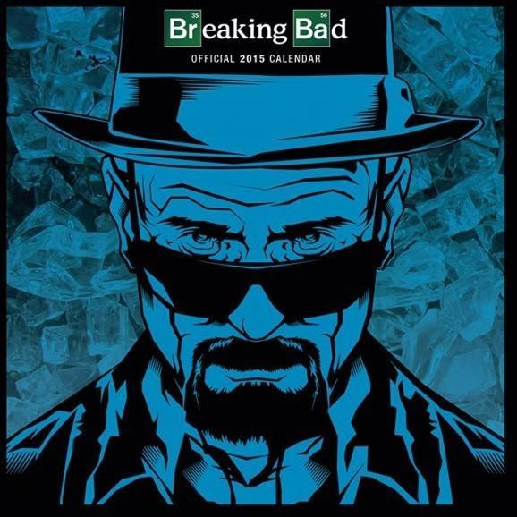 Pyramid posters Breaking Bad Heisenberg - oficjalny kalendarz 2015 r. C13008