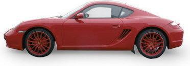 Siku Porsche Cayman 1433