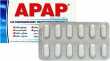 US Pharmacia Apap 500mg 12 szt.
