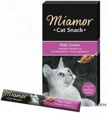 Miamor Cat Confect Malt-Cream Pasta ze słodem - 6 x 15g