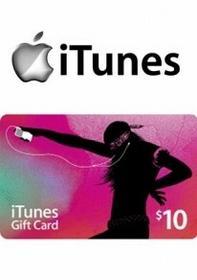 iTunes 10 USD GIFT CARD PREPAID US