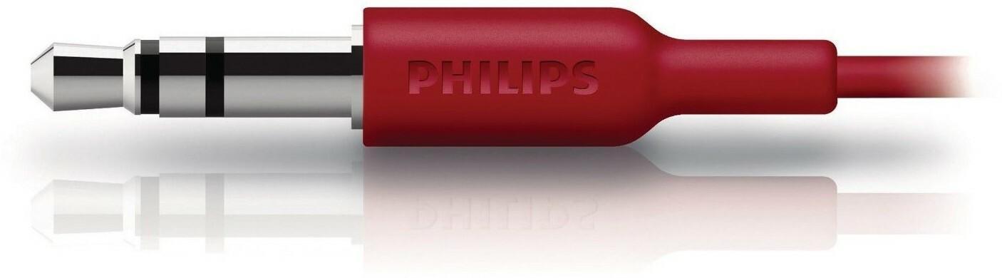 Philips SHE3590RD/10 Czerwony