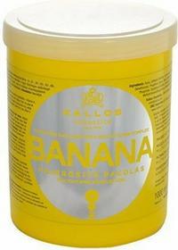 Kallos Banana Fortifying Hair Mask 1000ml (Maseczka do suchych i uszkodzonych włosów)