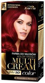Joanna Multi Cream Color 34 Intensywna Czerwień