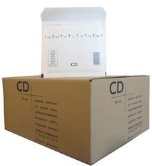 VP Koperty bąbelkowe CD 180 x 165 białe 100 szt. 2FVAF200313