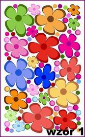 Naklejka ścienna kwiatuszki nr 1