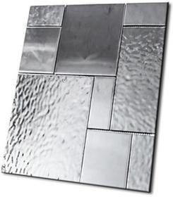 MidasComponer Srebrny Mat/Poler Struktura Nr 36 43,5x43,5x0
