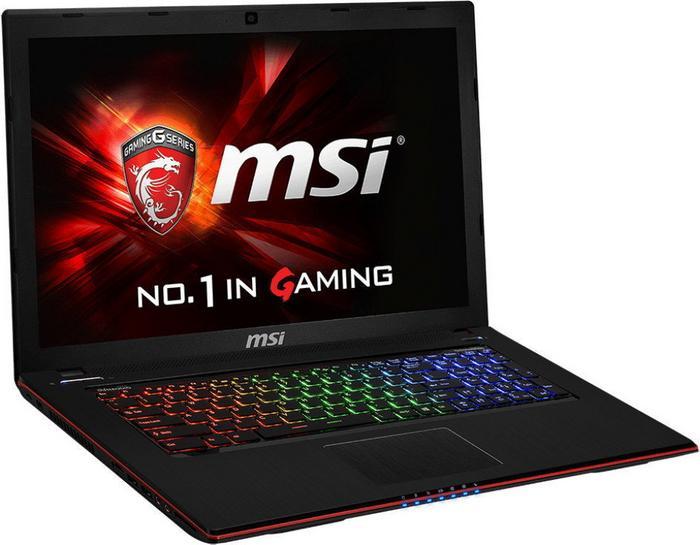 "MSI GE70 2QE-832XPL 17,3"", Core i7 2,6GHz, 8GB RAM, 1000GB HDD (GE70 2QE-832XPL)"