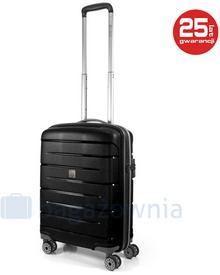 Roncato Mała kabinowa walizka Starlight 2.0 3403-01 Czarna - czarny