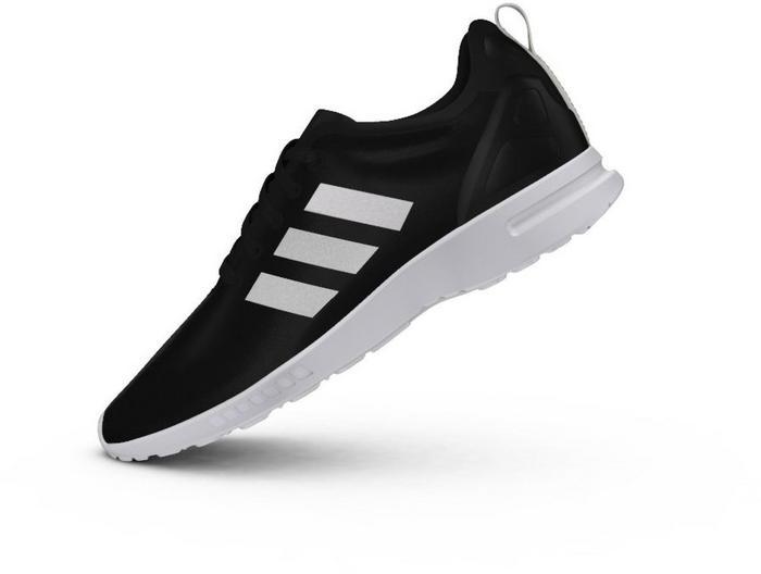 adidas zx flux czarno białe damskie