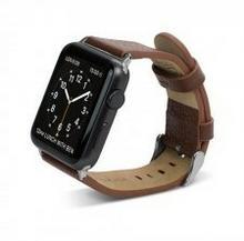 X-Doria Lux Band - Skórzany pasek do Apple Watch 38mm (brązowy) 10_6539