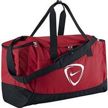 Nike Club Team BA4871-651 torba sportowa, wymiary: 58 x 30 x 33 cm, pojemność: 56 l, kolor: czerwony/czarny/biały (University Red/Black/White) BA4871-651. MISC