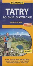Tatry Polskie i Słowackie mapa 1:50 000 Compass