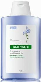 Pierre-Fabre Klorane Szampon na bazie włókien lnu wł. cienkie 400ml 7056843