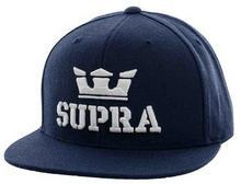 Supra czapka z daszkiem Above Snap Navy White NVW)