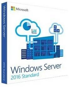 Microsoft Windows Svr Standard 2016 PL 64bit 5CAL DVD