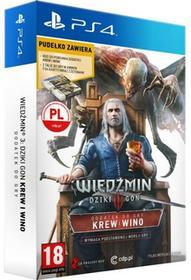 Wiedźmin 3 Dziki Gon: Krew i Wino - Edycja Limitowana PS4