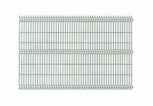 Polbram panel ogrodzeniowy 3D zielony ocynkowany 123x250 cm, oczko 50x200 mm, średnica drutu 4 mm