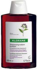 Klorane Szampon na bazie wyciągu z chininy i wit.B 200ml