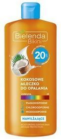 Bielenda Bikini kokosowe mleczko do opalania SPF20+ 200ml