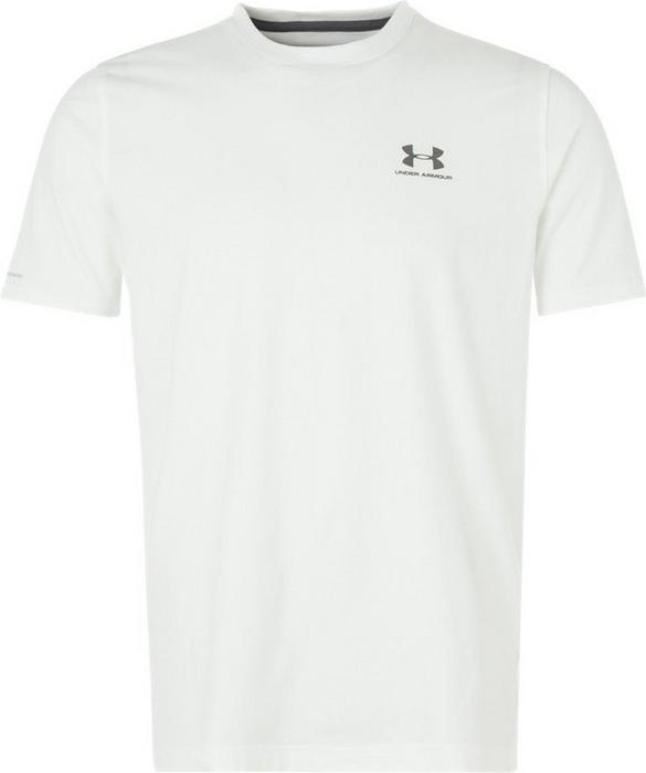Under Armour LOCKUP koszulka sportowa white/graphit 1257616