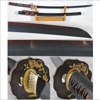 Kuźnia mieczy samurajskich Katana JAPOŃSKA STAL 1095 HARTOWANA GLINKĄ R1167