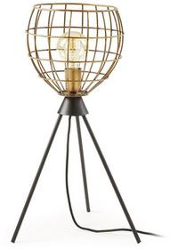 LaForma Lampa stołowa BRIANA Mosiężna AA0018R53