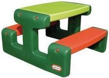 Little Tikes Stolik Junior Picnic Table - Evergreen