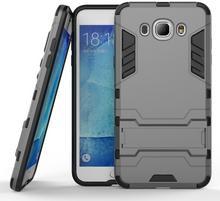 Samsung Szary Etui Combo Hybrid Stand Case Galaxy J7 2016