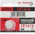 Maxell Baterie litowa CR1616