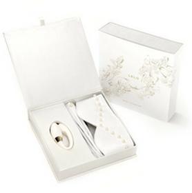 Lelo Bridal Pleasure Set ślubny zestaw prezentowy z wibratorem dla par, opaską