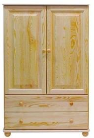 Bieliźniarka II-drzwiowa + szuflady C72 BIEL-2D+SZUF-C72
