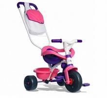 Smoby Rowerek Trójkołowy BE MOVE Comfort 2w1 różowy