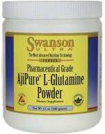 Swanson AjiPure L-Glutamine Powder - 340g