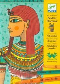 Zestaw Artystyczny Egipska Sztuka.