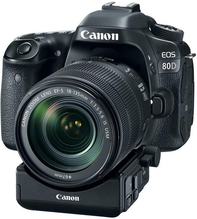 Canon EOS 80D + EF-S 18-135mm czarny