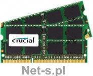 Crucial 16GB kit 8GBx2 DDR3 1333MHz CL9 SODIMM 1.35V/1.5V for Mac