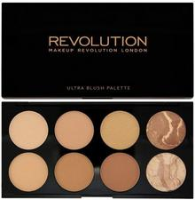 Makeup Revolution Ultra Bronze Palette Paleta brązującyów do twarzy All About Br