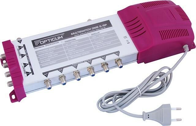 Opticum Multiswitch OMS-5/6P