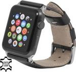 Apple StilGut Pasek do Watch 42 mm. black