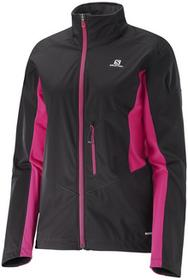 Salomon Kurtka Lightning Softshell W BlackPink