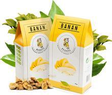 Puffins Banan Suszony Bez Cukru 40g MicroFood EKO